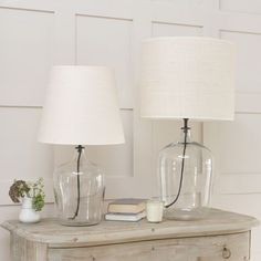 Gorgeous Glass Lamp | Flagon | Loaf  £95 for a small, £125 for a large. Possible to make a homemade version for less?