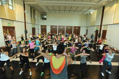 Find a live class at Zumba.com/parties/search to join the party!