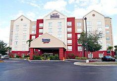 Fairfield Inn and Suites by Marriott Orlando near Universal - Hotels.com, 6 nätter, 5 334:-, frukost ingår, Wi-FI på allmänna ytor, pooler
