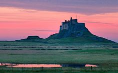 Lindisfarne Castle is a citadel located on Holy island, Northumberland - The best National Trust properties – as voted for by the experts Berwick Upon Tweed, Road Trip Packing List, Toddler Travel, Luxor Egypt, London Life, National Trust, Future City, Future Travel, Outdoor Art