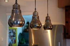 I like these lights for over the bar in my kitchen.