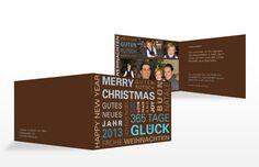 """Weihnachtskarte """"366-Tage"""""""