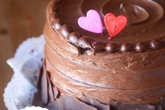 The Chocolate Dessert Cafe's The Cherub (Milk Chocolate Layer) Cake - & A Valentine's Giveaway #utah #valentinesday #giveaway #chocolate #cake #chocolatecake