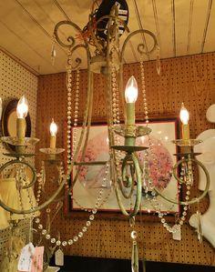 #lighting #chandelier #vintage #antique #decor