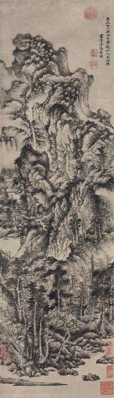 Wang Meng(王蒙) ,  青卞隐居图
