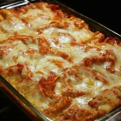 Recipe For Tomato Basil Lasagna with Prosciutto - The prosciutto was a nice change from the more typical lasagnas. Lots of flavor!
