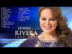 Jenni Rivera Sus Mejores Éxitos | Las 25 Mejores Conciones de Jenni Rivera - YouTube