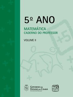 5o ANO MATEMÁTICA CADERNO DO PROFESSOR Volume ii