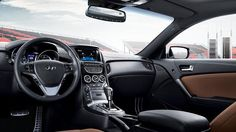 2015 GENESIS COUPE ULTIMATE IN TAN LEATHER INTERIOR Visit http://www.hyundaigreenvalley.com/