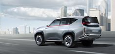 The Mitsubishi Concept GC-PHEV is a next-generation full-size SUV with full-time 4WD. It is based on a front engine, rear-wheel drive layout plug-in hybrid EV (PHEV) system comprising a 3.0-liter V6 supercharged MIVEC engine mated to an eight-speed automatic transmission, with a high-output motor and a high-capacity battery to deliver all-terrain performance truly worthy of an all-round SUV.