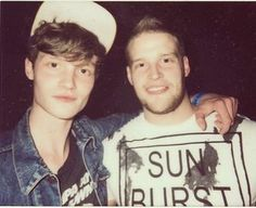 #Drowners #Drownersband #MatthewHitt Old picture of #MattHitt with his brother Chris!=)Posted by chrishitt89 today!