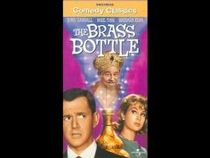 """The Brass Bottle - 1964. Starring Tony Randall, Burl Ives and Barbara Eden  Trviia - Producer Sidney Sheldon said he was inspired by the Brass Bottle to create """"I Dream Of Jeannie!"""""""