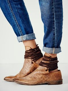 Free People Ajax Laceback Boot at Free People Clothing Boutique