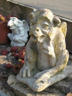 Garden art - gargoyles