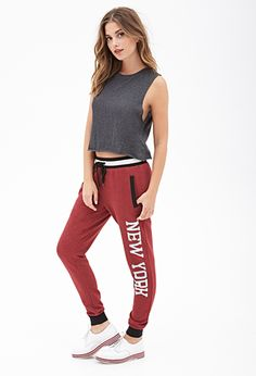 New York Sweatpants   FOREVER21 - 2055878868