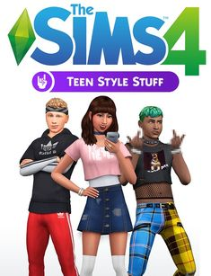 SxL Presents: Teen Style Stuff A brand new cc pack. Sims 4 Game Packs, The Sims 4 Packs, Sims 4 Game Mods, Sims 4 Collections, Sims 4 Challenges, Sims 4 Mods Clothes, Sims 4 Traits, Tv Star, Casas The Sims 4