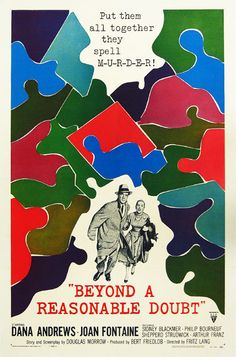 Beyond a Reasonable Doubt, 1956 Film Noire