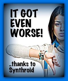 Read how being a poor thyroid treatment can make OTHER issues even worse!! #Thyroidproblems #Hypothyroidism #Hashimoto's