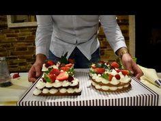 LA TARTA DE MODA 2018 - YouTube Cake Cookies, Waffles, Cheesecake, Breakfast, Youtube, Desserts, Mousse, Food, Projects