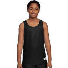 Sport Tek Youth PosiCharge Mesh Reversible Tank Top *** Be sure to check out this awesome product. (This is an affiliate link) #Shirts
