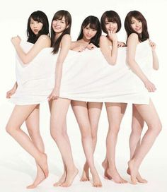 Five Asian woman together