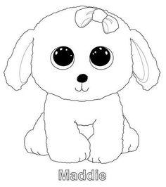 8 Gambar 50 Beanie Boo Coloring Pages Terbaik Beanie Boos Teddy