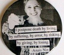 Anais Nin.