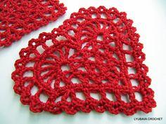 PDF Crochet Heart Easy Tutorial Crochet Heart by LoveCyprusCrochet