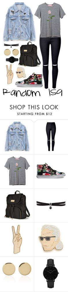 """""""Random 159"""" by megan-walz21 ❤ liked on Polyvore featuring Vans, Victoria's Secret, Fallon, Lucky Brand, Georgia Perry, Magdalena Frackowiak and CLUSE"""