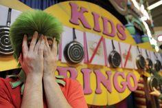 Win leuke prijzen tijdens de Kids Bingo.
