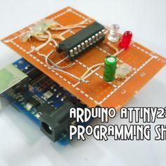 Arduino ATtiny2313 Programming Shield