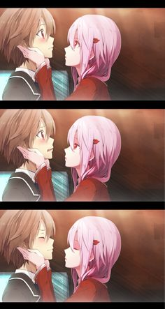 Shu & Inori Kiss