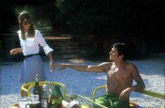Alain Delon & Jane Birkin, La piscine