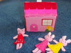 Dolls with house