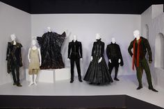 The Tempest costumes on display at the Fashion Institute of Design and Marketing (FIDM) in Los Angeles.