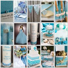 Light blue wedding inspiration