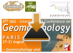 """#geocongress 8th IAG International Conference on Geomorphology. Paris, France. 27 Aug 2013 → 31 Aug 2013. The 8th International Conference on Geomorphology of the International Association of Geomorphologists (IAG) will take place in Paris at the Cité des Sciences de La Villette from August 27 to 31, 2013. The main topic of this 8th Conference is """"Geomorphology and Sustainability"""". Organized by the Groupe Français de Géomorphologie (GFG) and open to all scientists and practitioners, this..."""