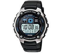 Casio Men's AE2000W-1AV Silver-Tone and Black Multi-Functional Digital Sport Watch Casio http://www.amazon.com/dp/B003DZ7VVK/ref=cm_sw_r_pi_dp_V2ikvb1B5P71B