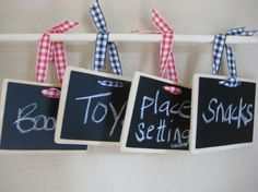 Chalk Tags Rectangle