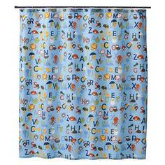 CircoR ABC Fabric Shower CurtainOpens In A New Window