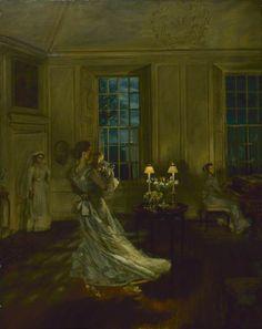Spring Moonlight ~   John Henry Lorimer ~ (1856–1936)