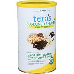2Pack! Tera's Whey Sustained Energy - Bourbon Vanilla - 12 oz *** Continue to the product at the image link. (This is an affiliate link) #SportsNutrition