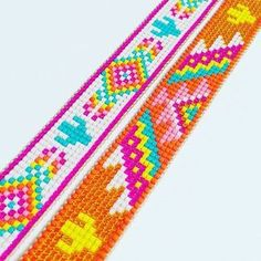 off loom beading stitches Bead Loom Bracelets, Beaded Bracelet Patterns, Bracelet Crafts, Seed Bead Crafts, Seed Bead Jewelry, Seed Bead Patterns, Beading Patterns, Tear, Loom Beading
