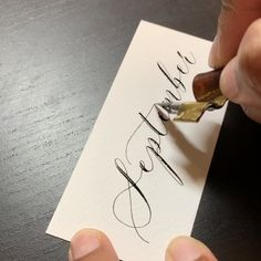 Calligraphy Discover Calligraphy Handwritten Calligraphy for all occasions and stationery requirements with Babooche Calligraphy. Learn how to write this beautiful art or book our calligraphy service for your bespoke project. Modern Calligraphy Alphabet, Calligraphy Video, Calligraphy For Beginners, Calligraphy Doodles, Calligraphy Drawing, Copperplate Calligraphy, How To Write Calligraphy, Calligraphy Handwriting, Penmanship