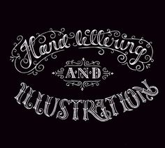 Hand Lettering & Illustration by Ludvig Nevland