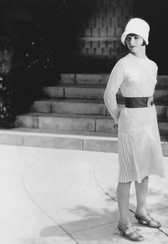 Louise Brooks in Rolled Stockings, 1927