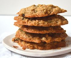 Easy Brown Sugar Oatmeal Cookies w/ Dried Blueberries ~ Moist & Chewy    , a recipe on Food52