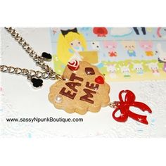 Eat Me Cookie Necklace