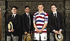 Inside the weird world of Harrow: Boaters, bizarre traditions, chronic homesickness - all come under the spotlight when one of our top schools lets the cameras in for the first time