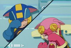 'Battle Network of Love' by VillainousPloy Character Design References, Game Character, Castlevania Lord Of Shadow, Megaman Series, Star Force, Robots Characters, I Go Crazy, Cartoon Games, Metroid